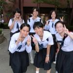 武庫川女子大学附属高校へ