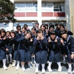 龍野高校で合同練習&吹奏楽の司会