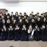 奈良県から郡山・帝塚山高校が来校