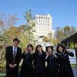 関西大学へ取材に行きました
