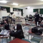 呉三津田高校放送部とオンライン交流会