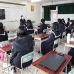 毎日放送森本アナ来校&佐賀清和高校放送部とオンライン交流会